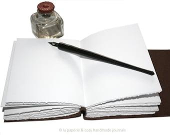 "REFILL SERVICE -- 9""x6"" handmade La Paperie & Cozy journal"