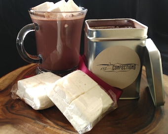 Decadent Hot Cocoa Mix with Vanilla Bean Marshmallows