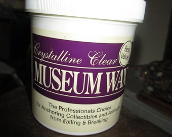 Museum Wax / Earthquake Hold / Includes Directions & Applicator