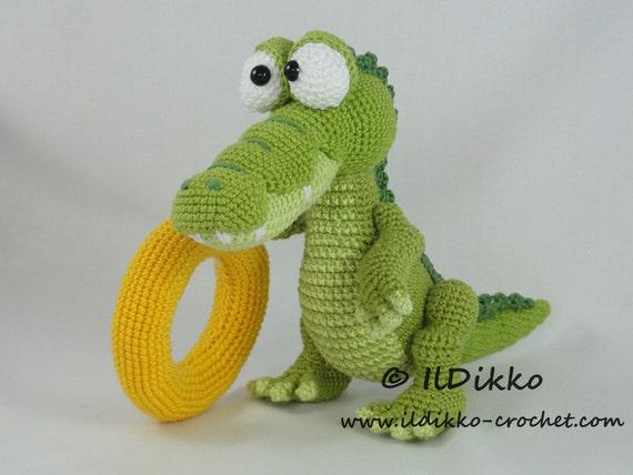 Amigurumi Häkel Muster Konrad das Krokodil Deutsche