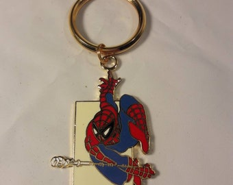 Vintage Spiderman Key Chain