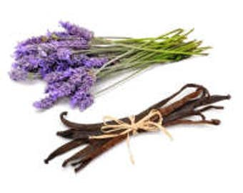 Lavender Vanilla Essential Oil & Fragrance Oil Blend 5 mL, 1/2 oz, or 1 ounce glass bottle - diffuser aromatherapy oil, dryer ball scents