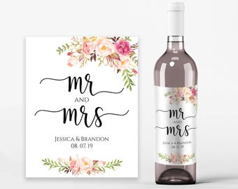 Wine Bottle Label Template Kleobeachfixco - Mini wine bottle labels templates