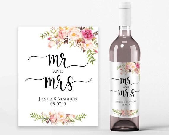 Wedding Wine Labels Wedding Wine Printable Wine Label Template