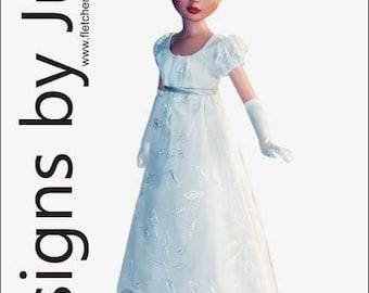 PDF Regency Dress Pattern for Ellowyne