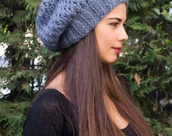 Slouchy hat Slouchy beanie Womens gift women knit hat womens crochet hat winter hat women slouchy beanie women boho hat crochet hat
