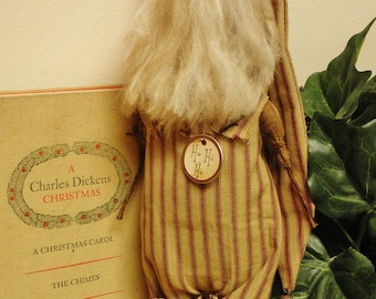 Santa Doll, Extreme Primitive Santa, Primitive Santas, Country Christmas Decor