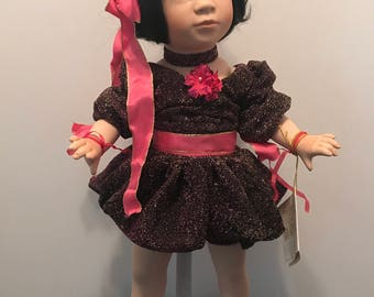 SALE - 1995 World Gallery Porcelain Doll