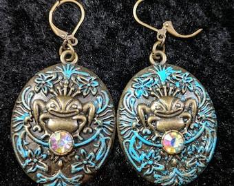 Frog earrings #12