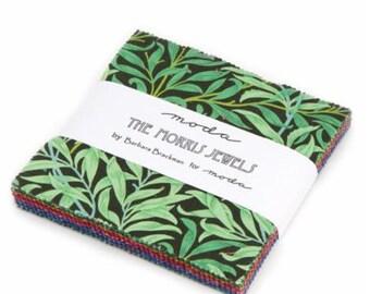 The Morris Jewels Charm Pack by Barbara Brackman for Moda