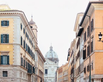 "Rome Italy Photograph, Rome Art Print, Living Room Wall Decor, Fine Art Photography, Large Art, Travel Print ""La Strada"""