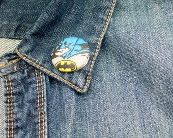 DC Batman lapel pin