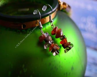 Pure Agate Pebble earrings