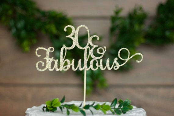 thirty cake topper 30th birthday cake topper 30th birthday