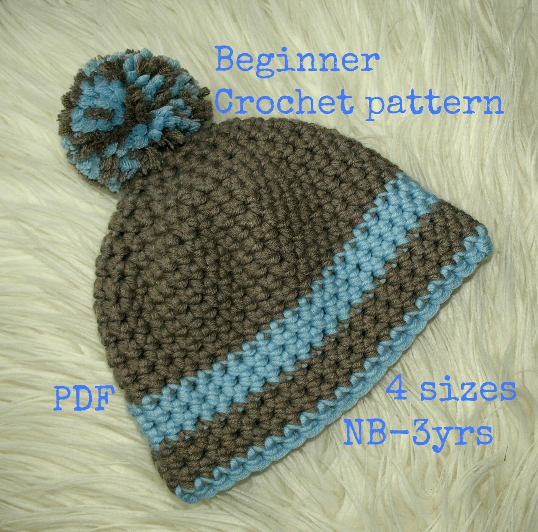 Baby hat pattern crochet, Easy Crochet pattern, Baby accessories ...