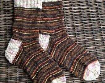 Brownie Cupcake Socks