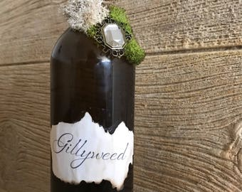 Harry potter inspired gillyweed potion/Wizard potions/collection/harry potter inspired/wands/NOT a Harry Potter licensed or affiliated produ