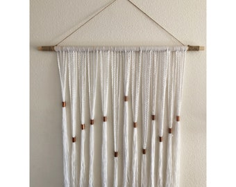 Yarn and Copper Wall Hanging