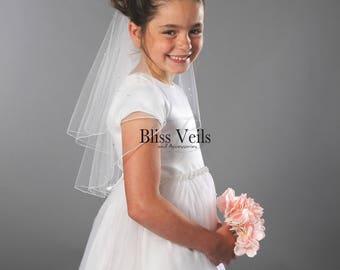 Communion Veil, First Communion Veil, Confirmation Veil, Holy Communion Veil, Baptism Veil, Fast Shipping!