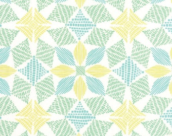 Canyon Fabric by the yard, Kate Spain Fabric, Moda Fabric, Geometric Quilt Fabric, Modern Quilt Fabric, Canyon Basket Sand 27224 13