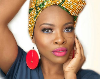 African head wrap, African clothing, African fabric, African headwrap, Ankara head wrap, Ankara fabric, African head scarf, African scarf