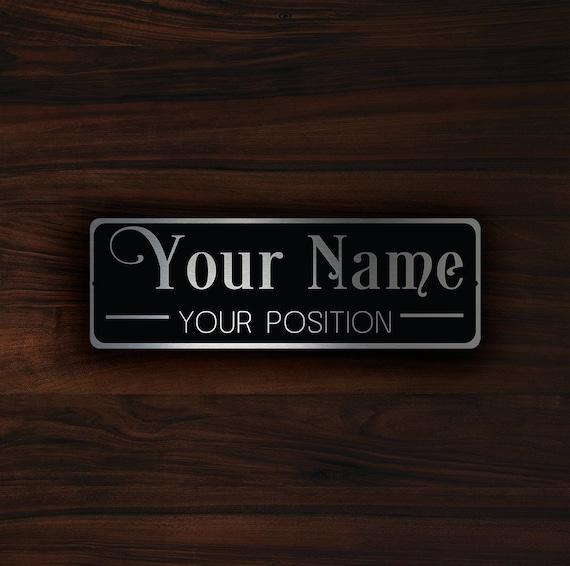PERSONALIZED DOOR PLAQUE Sign Personalized Door Plaque