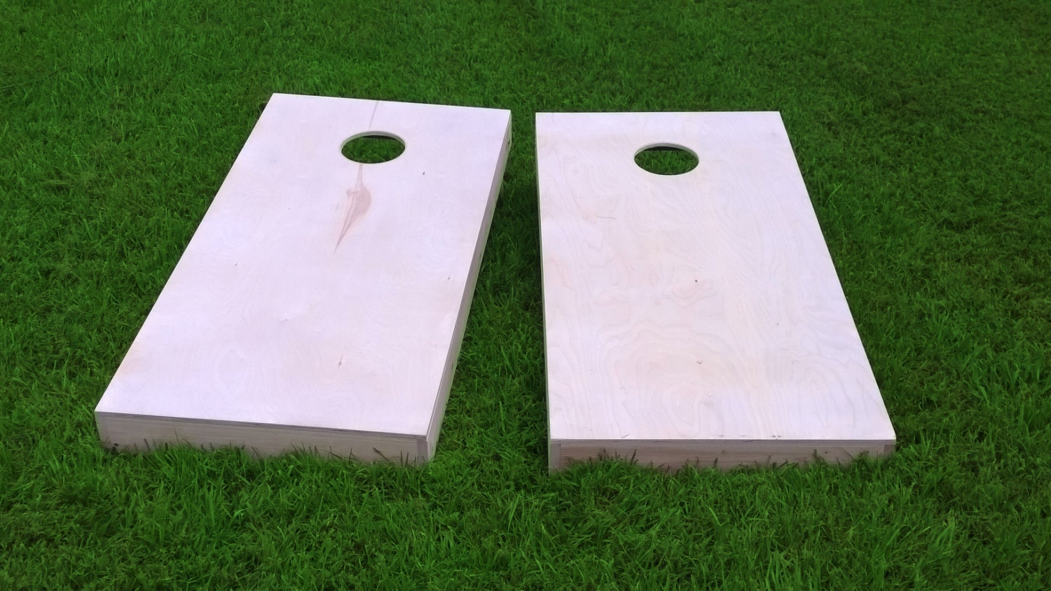 Finished & Non Painted 2x4 Frame Cornhole Boards DIY Corn