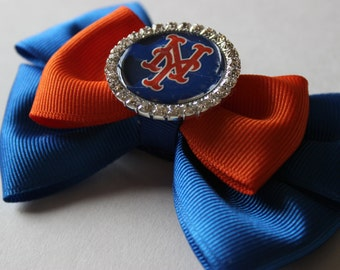 Baseball Team Inspired Boutique Bow