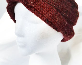 Rustic Knit Ear Warmer Headband