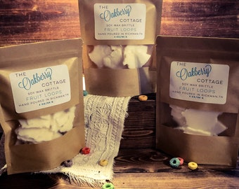 Fruit Loops Scented Soy Wax Brittle