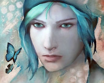 Life Is Strange Chloe Price Digital Painting Print