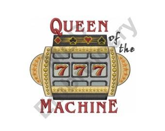 Machine - Machine Embroidery Design, Slot Machine
