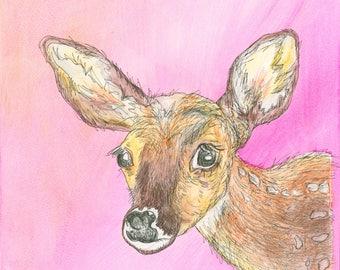 Oh Deer (Giclee print)