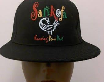 Base Ball Caps. Sankofa