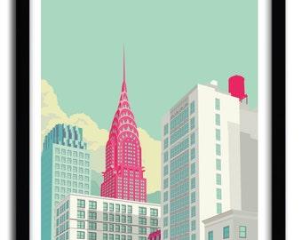 Park Avenue Art Print by REMKO HEEMSKERK