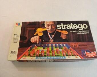 1975 Milton Bradley Stratego Game Number 4916