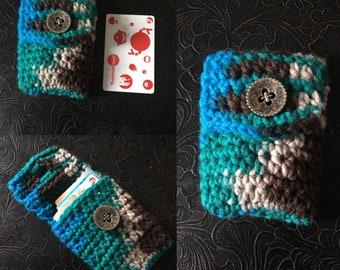Crocheted Pocket Wallet