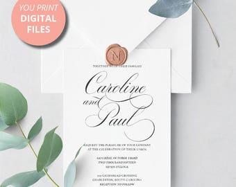 YOU PRINT - Delicate Invitation Design