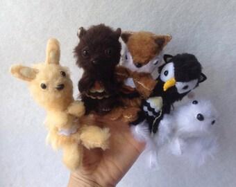Woodland Finger Puppets (5)