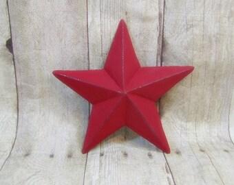 Primitive Star/Cast Iron Decor/Metal Wall Decor/Metal Star/5 point star
