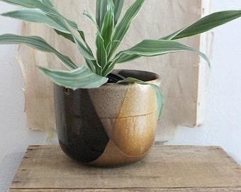 Vintage Pottery Craft USA Hanging Planter Pot