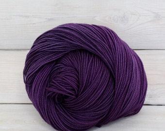 Celeste - Hand Dyed Superwash Merino Fingering Sock Yarn - Colorway: Jelly Bean