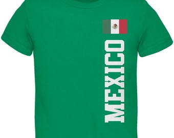 World Cup Mexico Green Toddler T-Shirt