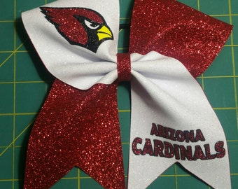 Arizona Cardinals Cheer Bow