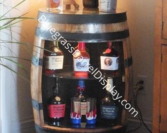 Bourbon Barrel Displays