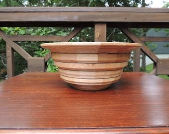Segmented Wood Bowl