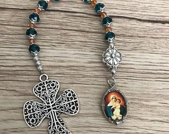 Virgin Schoenstatt One Decade Rosary  Chaplet