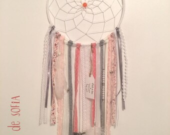 DreamCatcher - Dreamcatcher - coral/white/gray