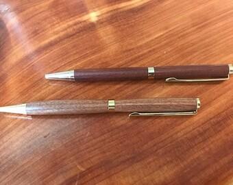 Hand Turned American Slimline Pen