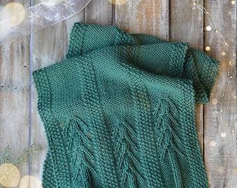 Pine View Scarf Knitting Kit 12 Days of Winter